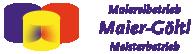 Malereibetrieb in Trudering und Pliening | Maier-Göltl Logo